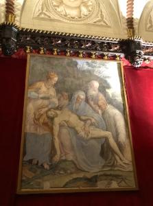 Pietà del Cristo morto, Bernardino Lanzani, 1580