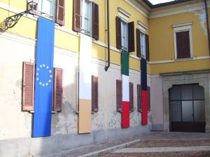 La sede Parrocchiale durante i Meeting Colombaniani
