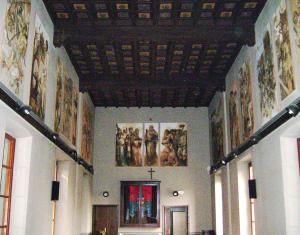 Dipinti di Onofrio Bramante - Aula Consiliare